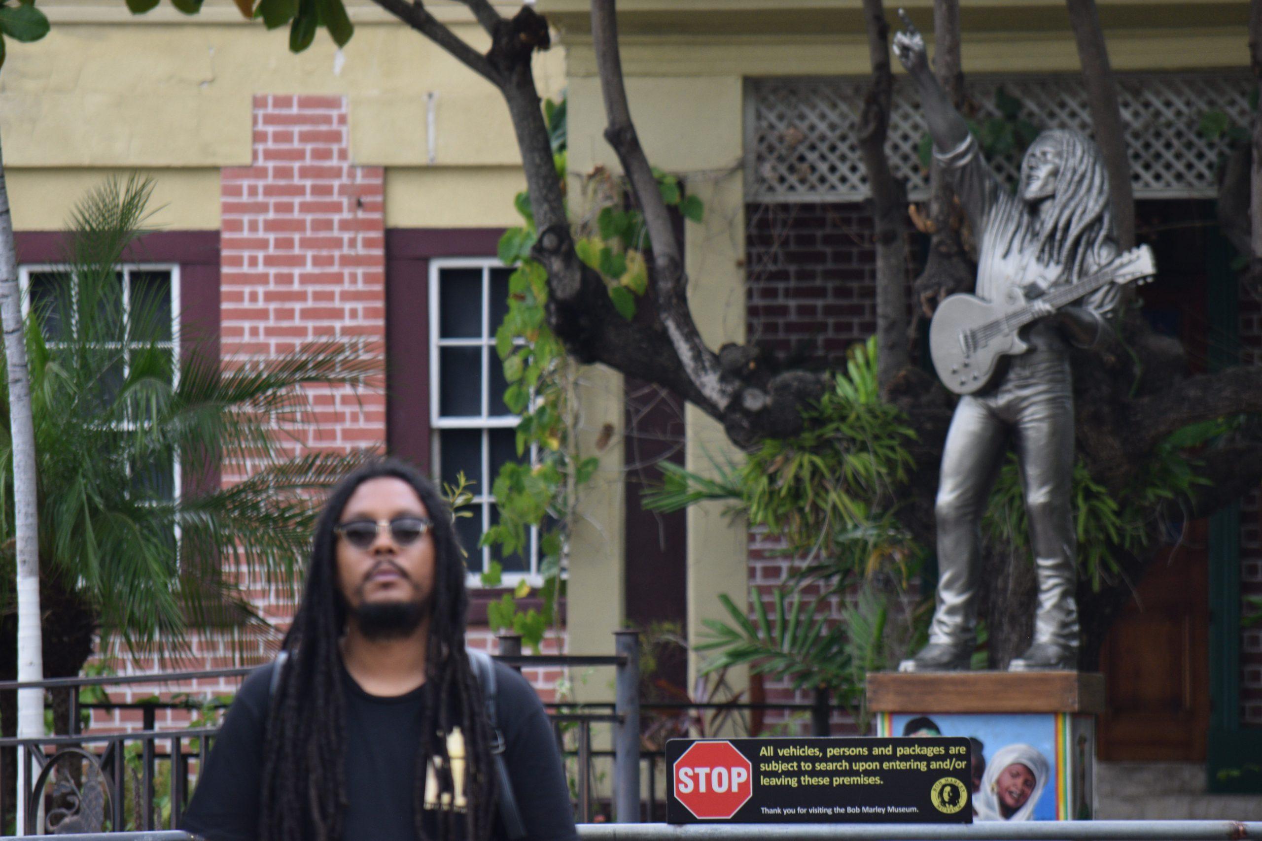 Don Dada at Bob Marley's House