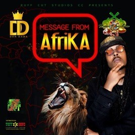 Don Dada Message To Afrika Album Cover